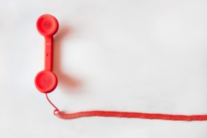 telephone, fast English speakers, help for English